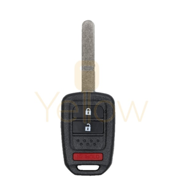 3 BUTTON REMOTE HEAD KEY REPLACEMENT FOR HONDA PN: 35118-TY4-A00