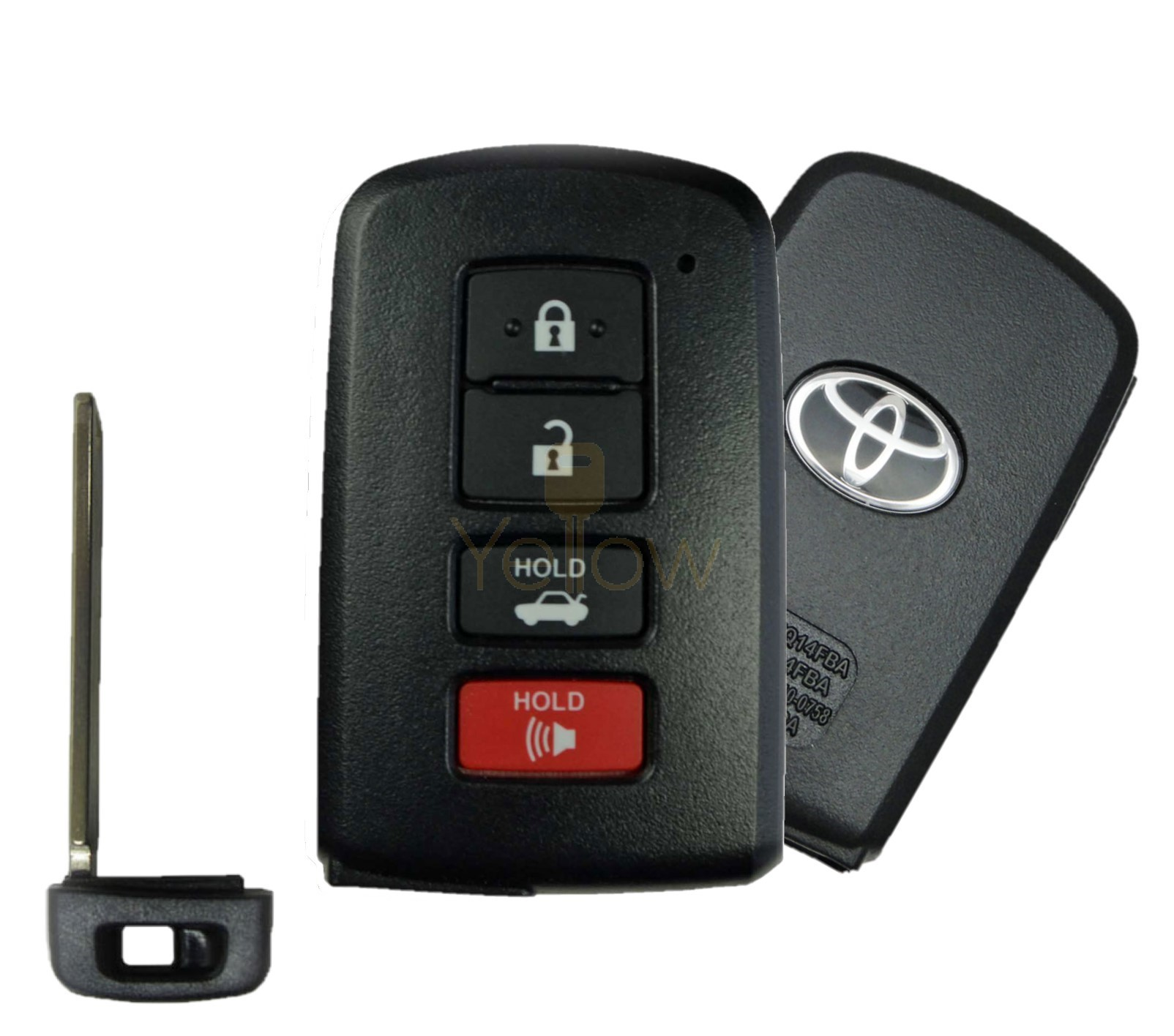 2012-2020 TOYOTA CAMRY AVALON COROLLA SMART KEY 4B (G BOARD) PN 89904-06140