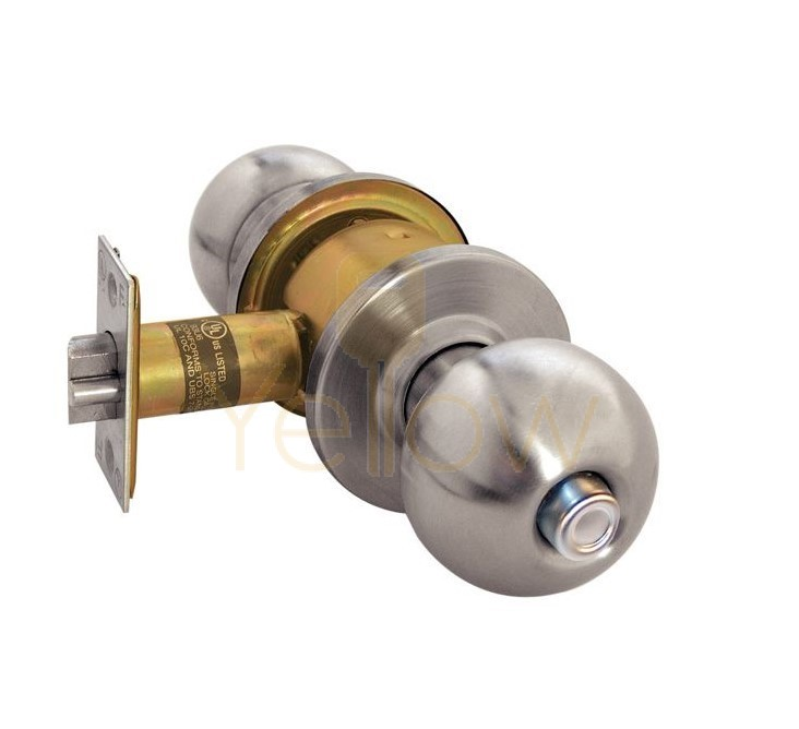 ARROW RK02 PRIVACY CYLINDRICAL KNOB LOCK (STAINLESS STEEL)