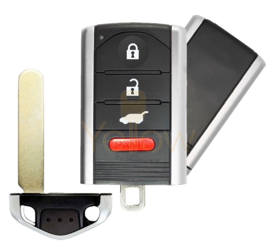 REPLACEMENT 2010-2015 ACURA RDX 4 BUTTON SMART KEY HATCH