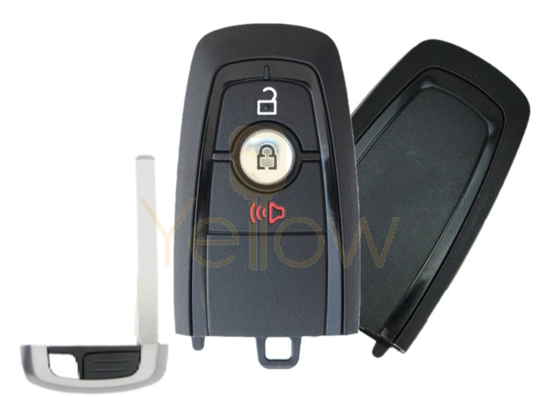 REPLACEMENT 2017-2021 FORD 1-WAY PEPS SMART KEY 3 BUTTON - PN 164-R8163
