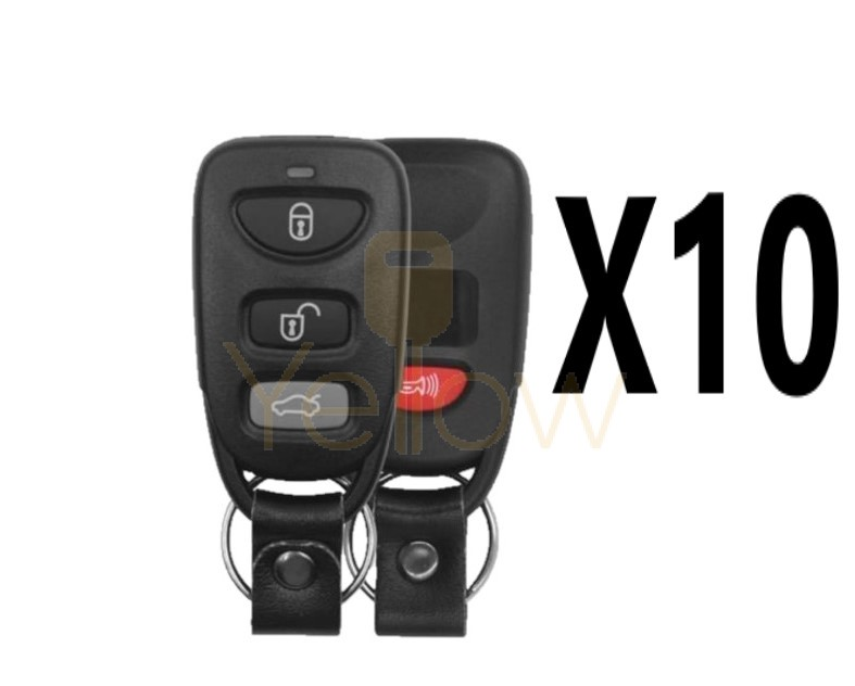 (10 PACK) XHORSE HYUNDAI STYLE - 4B UNIVERSAL REMOTE FOR VVDI KEY TOOL (WIRED)