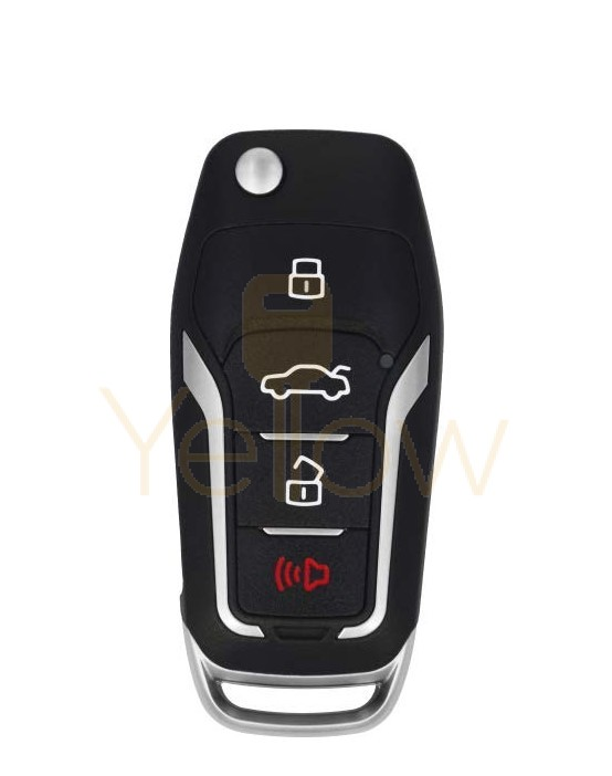 XHORSE FORD STYLE - 4B UNIVERSAL REMOTE FLIP KEY FOR VVDI KEY TOOL (WIRED)