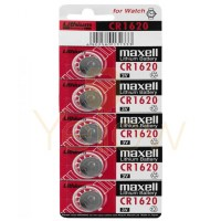 MAXELL CR1620 BATTERY 5-PACK