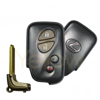 2009-2011 LEXUS ES GS IS LS CT SMART KEY 4B TRUNK W/EMERGENCY BLADE E BOARD PN 89904-50380