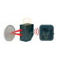 SECO-LARM - WIRELESS WEATHERPROOF ENTRY ALERT SYSTEM - 22FT