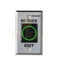 SECO-LARM - NO TOUCH - RTE IR SENSOR SINGLE GANG SENSOR PLATE - ENGLISH