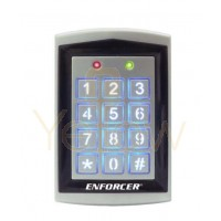 SECO-LARM - ACCESS CONTROL DIGITAL KEYPAD - 1010 USERS -  WEATHERPROOF - SEALED HOUSING - WITH PROX CARD READER - OUTDOOR