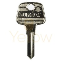 (10 PACK) AUDI PA8 / 73VB MECHANICAL KEY - MEDIUM HEAD - JMA AU-HV