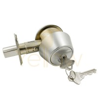 ADIR DB2601 HEAVY DUTY GRADE 2 DEADBOLT SC4 - SINGLE CYLINDER-26D KEYED ALIKE