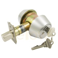 ADIR DB2621 GRADE 2 DEADBOLT SC4 - DOUBLE CYLINDER-26D KEYED ALIKE