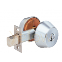 ARROW D61 GRADE 1 SINGLE CYLINDER DEADBOLT (CHROME)