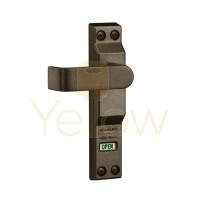 ADAMS RITE 4550L LEVER FOR MS1850A, MS1850S DEADLOCKS - THICK DOOR (1-3/4 TO 2 INCH) - LEFT HAND/LEFT HAND REVERSE - DARK BRONZE
