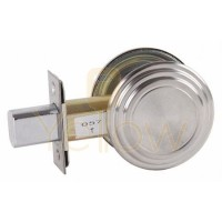 ARROW E60 GRADE 2 EXIT DEADBOLT (CHROME)