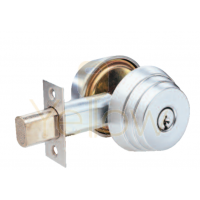 ARROW E61 GRADE 2 SINGLE CYLINDER DEADBOLT (CHROME)