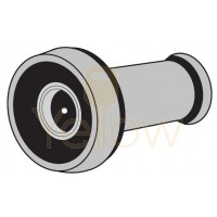 "ENTRY ARMOR - 190° 1/2"" DOOR VIEWER (POLISHED BRASS)"