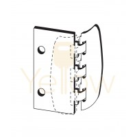 ENTRY ARMOR - PRIVACY FLIP LOCK (BRASS)
