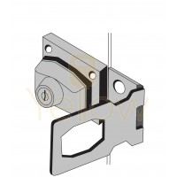 """ENTRY ARMOR - 2 1/2"""" HASP LOCK (KEYED DIFFERENT)"""