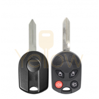 E-SHELL EXTRA STRENGTH 4 BUTTON REMOTE HEAD KEY SHELL FOR FORD
