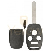 E-SHELL EXTRA STRENGTH 4 BUTTON REMOTE HEAD KEY SHELL FOR HONDA
