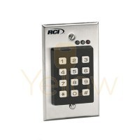 RCI 9212I - STANDALONE KEYPAD FOR SINGLE GANG FLUSH MOUNT APPLICATIONS - INTERIOR USE