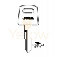 (10 PACK) JMA HONDA HD75 X138 MOTORCYCLE KEY HOND-4I