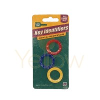 LUCKY LINE MEDIUM KEY IDENTIFIER ASSORTED - 3/CD