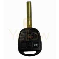 LEXUS REMOTE HEAD KEY SHORT BLADE 3B (4C CHIP)