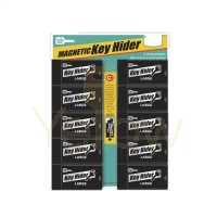 LUCKY LINE LARGE MAGNETIC KEY HIDER - 10 PCS - DISPLAY CARD