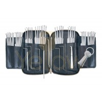 PRO-LOK 62 PIECE PICK SET WITH CASE