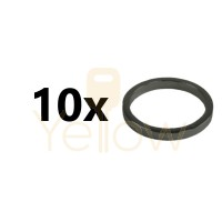 (10 PACK) GMS 1/8 COLLAR 10 BLOCKING RING FOR FOR MORTISE CYLINDERS US10B