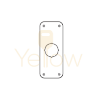 DON-JO RP-13509 REMODLER PLATE (STAINLESS STEEL)