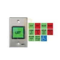 RCI 972-32D ALL-IN ONE ENGLISH - SPANISH ILLUMINATED PUSHBUTTON - MOMENTARY