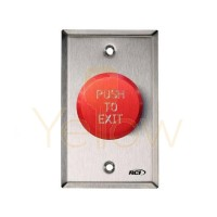 RCI 991R-PTD32D PNUEMATIC TIME DELAY EXIT PUSHBUTTON