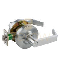 ARROW QL81 ENTRY CYLINDRICAL LEVER LOCK (CHROME)