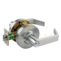 ARROW QL82 STOREROOM CYLINDRICAL LEVER LOCK (CHROME)