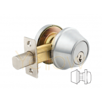 ARROW DBX61 SINGLE CYLINDER DEADBOLT (STAINLESS STEEL)