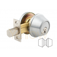 ARROW DBX62 DOUBLE CYLINDER DEADBOLT (STAINLESS STEEL)
