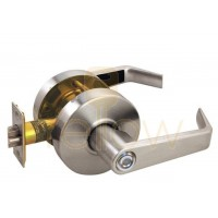 ARROW RL02 PRIVACY CYLINDRICAL LEVER LOCK (BRASS)