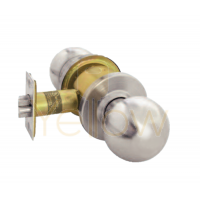 ARROW RK01 PASSAGE CYLINDRICAL KNOB LOCK (STAINLESS STEEL)