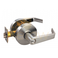 ARROW RL12 STOREROOM CYLINDRICAL LEVER LOCK (BRASS)
