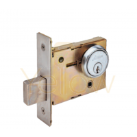 ARROW N41 SINGLE CYLINDER MORTISE DEAD LOCK