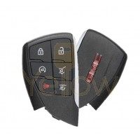 2021 GMC YUKON 6 BUTTON SMART KEY REMOTE START / HATCH / HATCH GLASS - PN 13537964 / 13541567