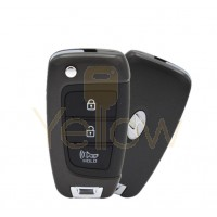 2020 HYUNDAI VENUE 3 BUTTON REMOTE FLIP KEY - PN 95430-K2500