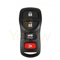 INFINITI NISSAN 4 BUTTON KEYLESS ENTRY REMOTE
