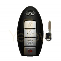 2011-2018 INFINITI M35 M37 M56 Q70 SMART PROX KEY 4 BUTTON PN 285E3-1MP0D