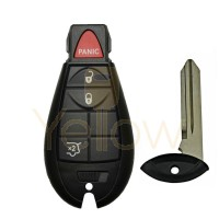 2008-2012 JEEP GRAND CHEROKEE COMMANDER FOBIK KEY 4B