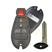 2011-2013 JEEP GRAND CHEROKEE SMART FOBIK PROXIMITY KEY 5B REMOTE START/ HATCH PN 56046735AH