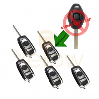(5 PACK) BMW REMOTE FLIP KEY 2 TRACK CAS (CHIP 46) SPECIAL PRICE