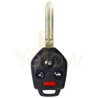 4 BUTTON REMOTE HEAD KEY REPLACEMENT FOR SUBARU